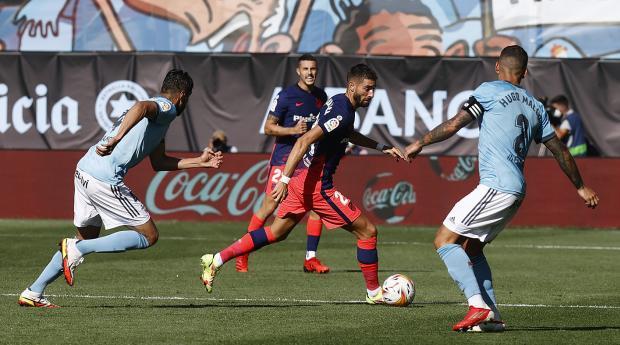 Дубль Корреа помог «Атлетико» обыграть «Сельту»