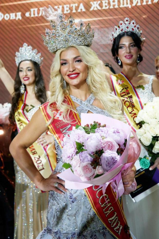 Анна Филиппова выиграла титул «Миссис Россия»