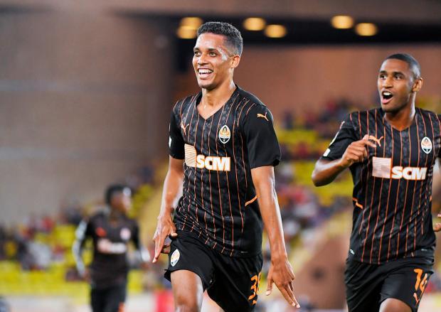 «Шахтер» обыграл на выезде «Монако» в первом матче плей-офф квалификации Лиги чемпионов