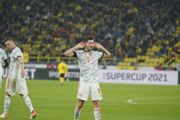 Два гола Левандовски принесли победу «Баварии» в матче за Суперкубок Германии против «Боруссии»