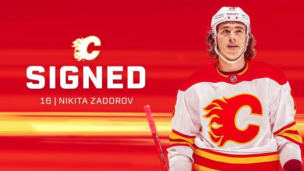 Задоров подписал контракт с «Калгари» на год