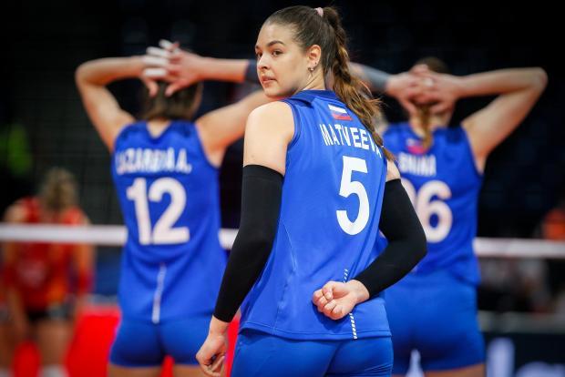 Сборная России уступила команде Бельгии на групповом этапе женского чемпионата Европы