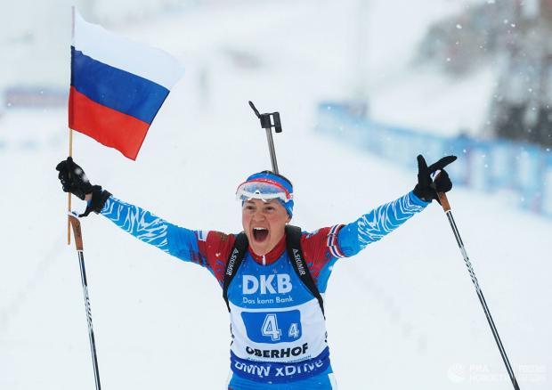 Российские биатлонистки получили максимальную квоту на следующий сезон