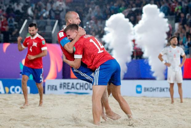Сборная России обыграла Испанию и вышла в полуфинал домашнего чемпионата мира