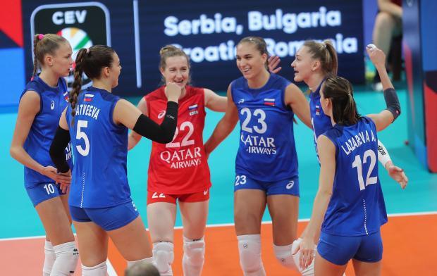 Сборная России сыграет с командой Белоруссией в первом раунде плей-офф женского чемпионата Европы