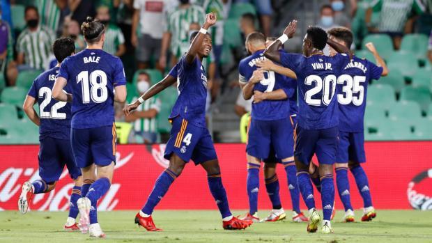 «Реал» обыграл «Бетис» и вернулся на первое место в чемпионате Испании