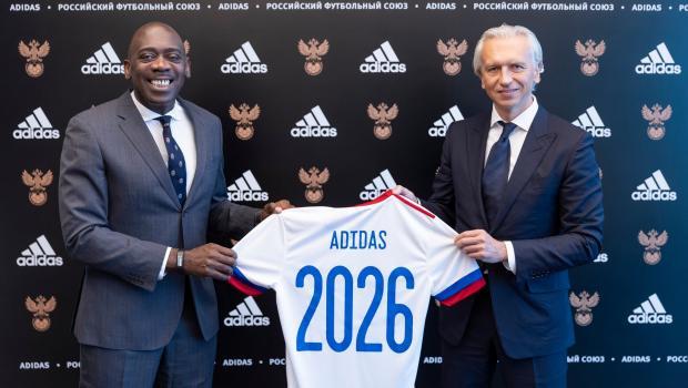 РФС объявил о продлении контракта с Adidas до 2026 года