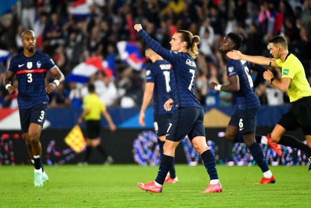 Сборная Франции сыграла вничью с командой Боснии в домашнем матче отбора ЧМ-2022