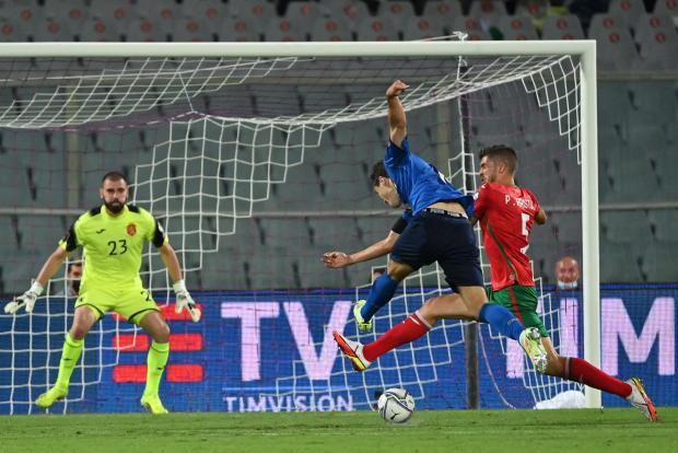 Италия упустила победу над Болгарией в матче отборочного турнира ЧМ-2022