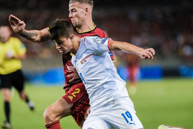 Голы Лукаку и Азара помогли сборной Бельгии разгромить Чехию