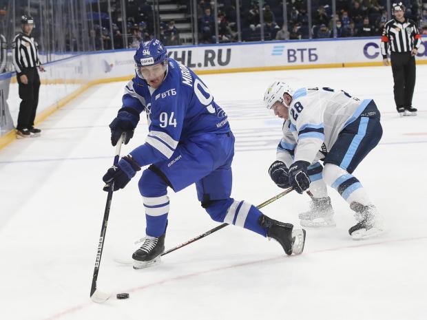 «Динамо» обыграло «Сибирь»