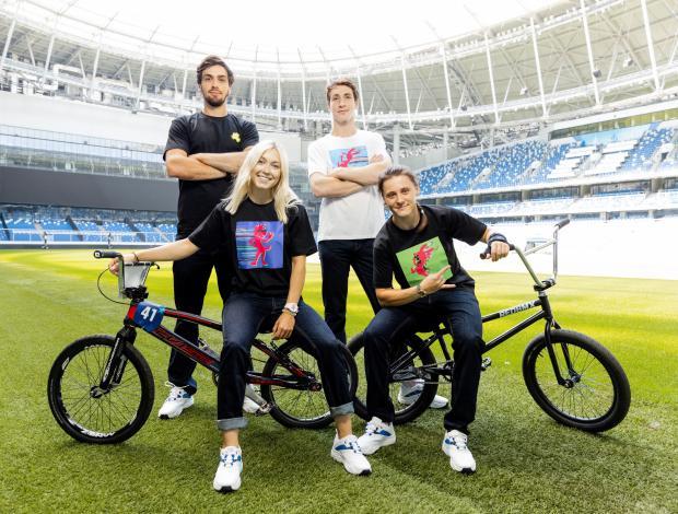 Герои нового «Ну, погоди!» появились на майках официального экипировщика Олимпийской команды России