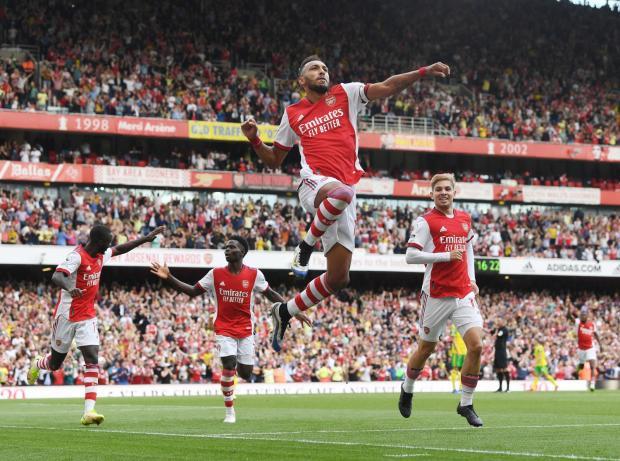 «Арсенал» одержал первую победу в сезоне, обыграв «Норвич»