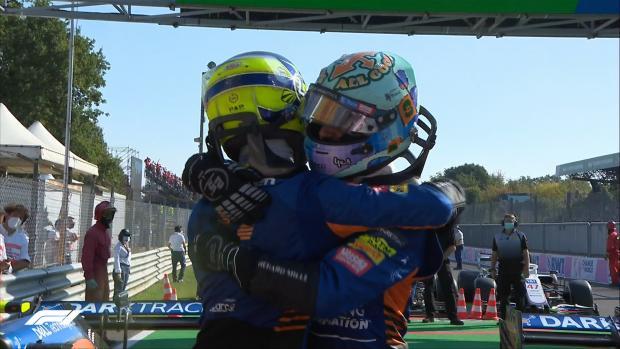 «Макларен» сделал победный дубль на Гран-при Италии, Хэмилтон, Ферстаппен и Мазепин сошли