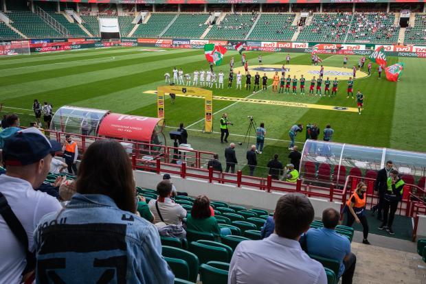 Стадион «Локомотива» на матч с «Марселем» можно будет заполнить на 30%