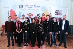 Сборная России - победитель онлайн-олимпиады ФИДЕ