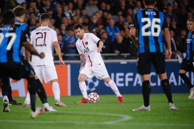 «ПСЖ» с Месси, Неймаром и Мбаппе не смог обыграть «Брюгге» в выездном матче Лиги чемпионов