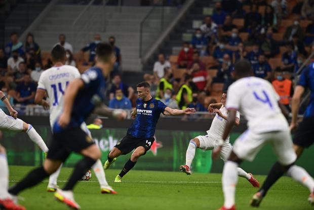 Куртуа и Родриго творят чудеса! «Реал» второй год подряд обыгрывает «Интер» в Милане