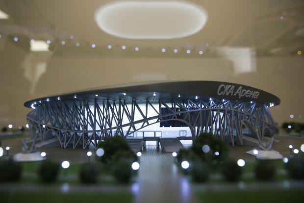 К ЧМ-2023 у России должна появиться самая большая хоккейная арена Европы