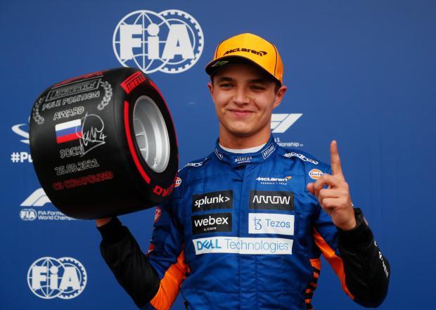 Норрис стал лучшим в квалификации Гран-при России, Мазепин показал 19-й результат