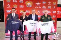 Центр «Авангард» и Федерация хоккея России подписали соглашение о сотрудничестве