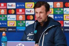 Сергей Семак: С «Мальме» мы должны больше атаковать, контролировать мяч