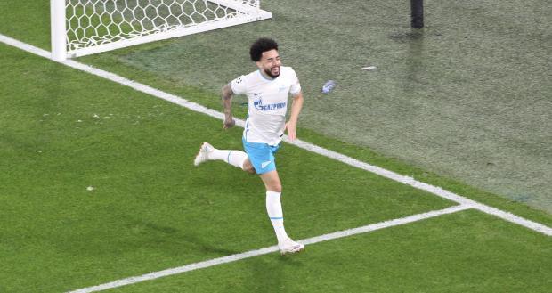 Клаудиньо открыл счет в матче «Зенит» - «Мальме»