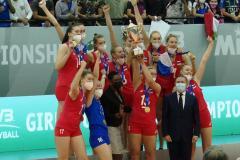 Российские волейболистки выиграли юниорский чемпионат мира впервые за 28 лет
