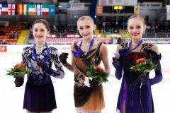 Муравьева выиграла золото на этапе юниорского Гран-при в Австрии
