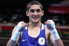 Боксер Батыргазиев стал чемпионом Европы по версии WBO в весовой категории до 57,15 кг