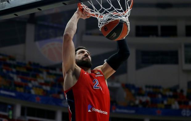 ЦСКА обыграл «Зенит» в матче Евролиги, Шенгелия набрал 33 очка