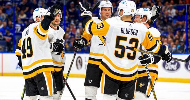 «Питтсбург» без Малкина обыграл «Тампу-Бэй» в первом матче нового сезона НХЛ