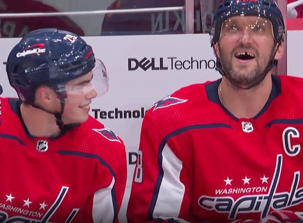 Дубль и две передачи Овечкина помогли «Вашингтону» обыграть «Рейнджерс» на старте нового сезона НХЛ