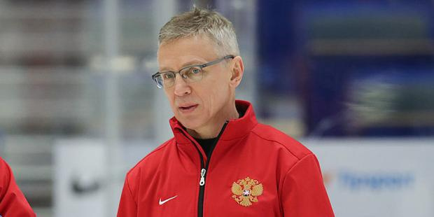 Ларионов ушел с поста главного тренера молодежной сборной России