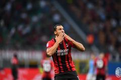Ибрагимович вошел в заявку «Милана» на матч с «Вероной»