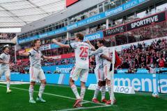 «Бавария» разгромила «Байер», Левандовски и Гнабри забили по два мяча