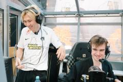 Сборная России по футболу поддержала Team Spirit в гранд-финале The International 10