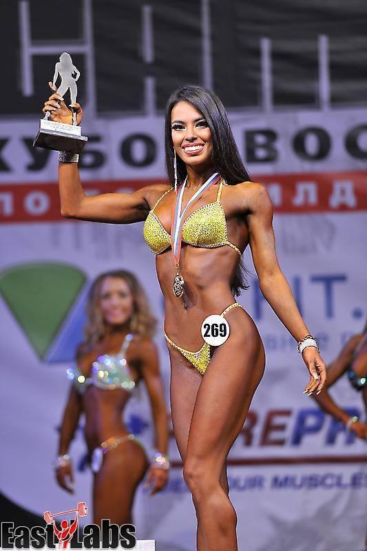Победительница экстрим фитнес мис бикини