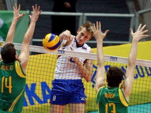 Россияне обыграли австралийцев на молодежном чемпионате мира