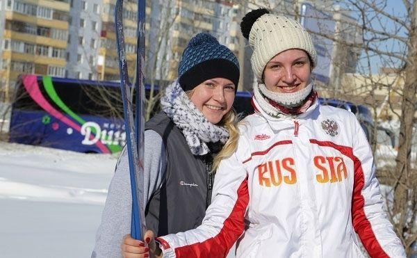 Казанское «Динамо» провело лыжную тренировку