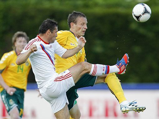 Товарищеский матч. Россия и Литва голов друг другу не забили