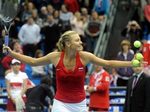 Шарапова снова разгромила Дулко. Россиянка с уверенной победы стартовала на супертурнире WTA в Индиан-Уэлсе