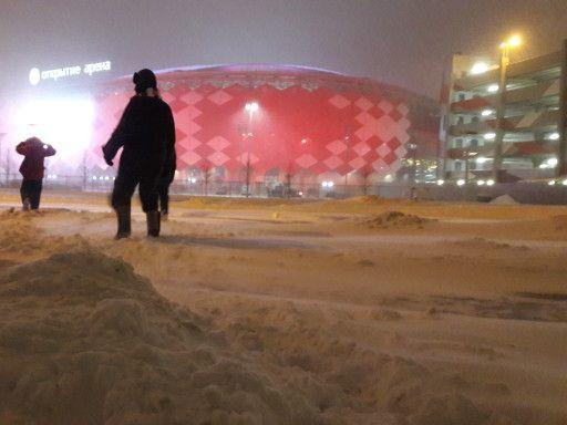«Как в Уренгое!». Что происходило в Тушине перед матчем «Спартак» – «Рубин»