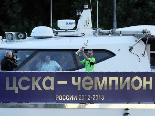 Сборная России разгромила украинцев на Кубке «Мечела»