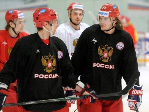 Виктор Тихонов: Сначала сборная, а уж потом  НХЛ (видео)