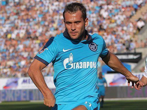 Александр Кержаков сделал дубль в матче «Зенит» - «Сатурн»