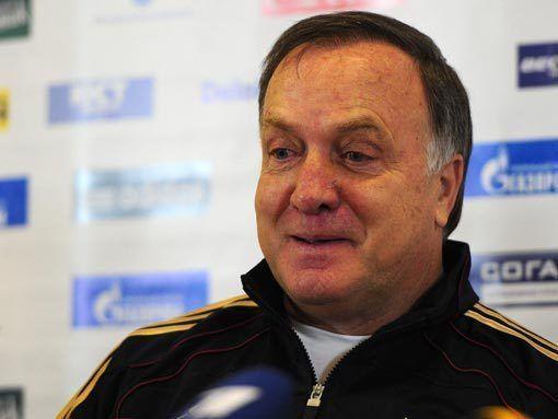 Главный тренер сборной России Дик Адвокат: Попытаемся выиграть Евро
