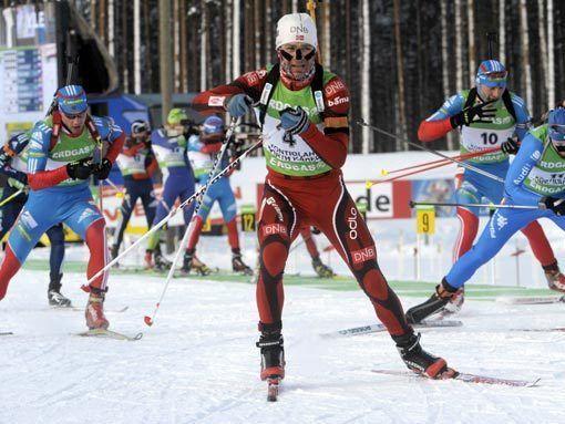 Чемпионат мира. Российские биатлонисты - седьмые в эстафете
