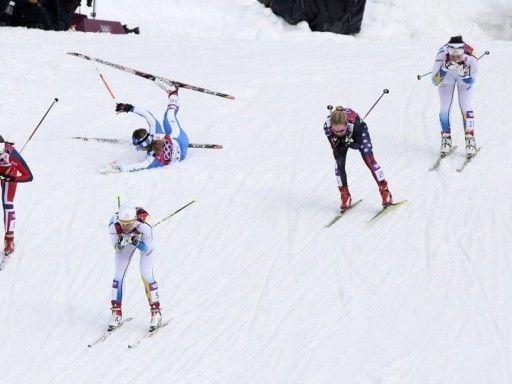 Сборная Швеции выиграла женскую эстафету на Олимпиаде, россиянки - шестые