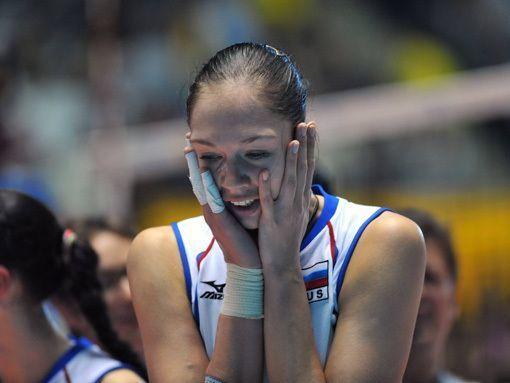 Женская сборная России обыграла Сербию на предолимпийском квалификационном турнире